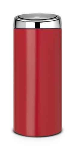 brabantia-483844-poubelle-touch-bin-acier-passion-red-32-x-295-x-72-cm