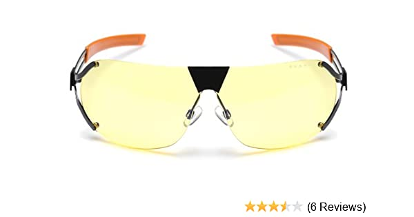 Gunnar Optiks DES-05101 SteelSeries Desmo Semi-Rimless Advanced Video  Gaming Glasses with Amber Lens Tint 3993425bd7