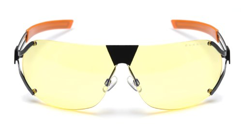 Gunnar - Desmo - onyx/orange / AMBER (Xbox 360-gaming-brille)