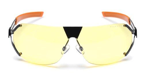 Gunnar - Desmo - onyx/orange / AMBER (Xbox 360-gaming-brille)