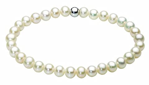 Dew Womens Sterling Silver and Freshwater Pearl Bracelet