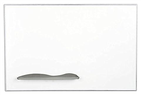 Porcelain Markerboard w Ultra Trim in Silver (3 ft. W x 2 ft. H (22 lbs.))