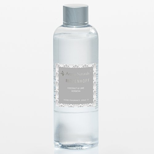 RITZENHOFF Aroma Naturals Luxury Refill, Plastik, Grau 4.5 x 4.5 x 15 cm, 200