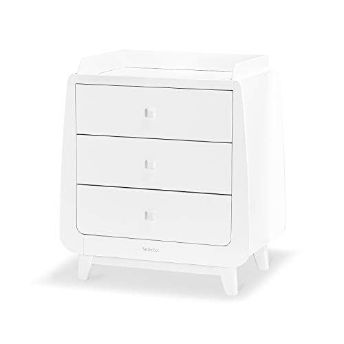 SnuzKot Luxe 2 pc. Nursery Furniture Set - White  Green Sheep Group LTD(9YKKU) -- Dropship