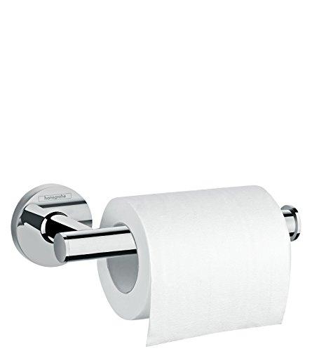 hansgrohe Logis Universal Toilettenpapierhalter (Badzubehör, ohne Abdeckun) chrom - Chrom Papierrollenhalter