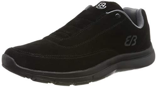 Bruetting Unisex-Erwachsene Stamford Slip On Sneaker, Schwarz/Grau, 39 EU