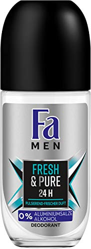 Fa Men Soft und Pure Roll-on Deo, 6er Pack (6 x 50 ml)