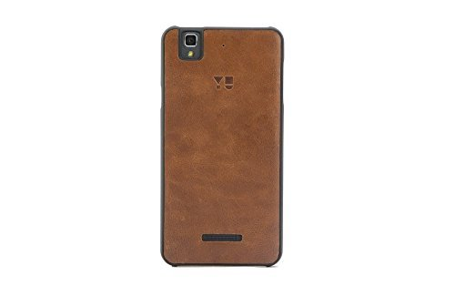 YU YBC5510 Back Case for Yureka AO5510 (Coffee Brown)