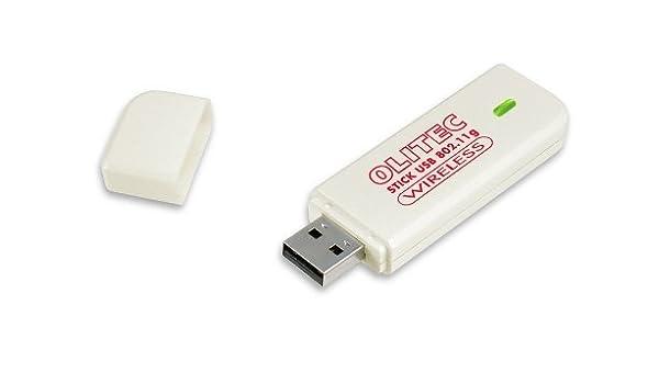 STICK TÉLÉCHARGER USB GRATUIT DRIVER OLITEC 802.11G WIRELESS