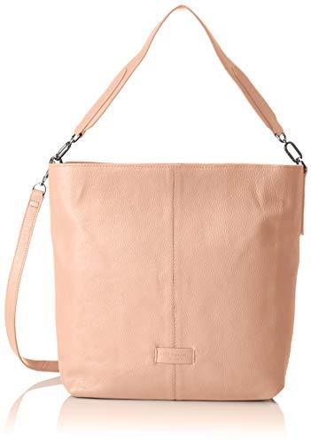 Liebeskind Berlin Damen Essential Hobo Medium Schultertasche, Pink (Dusty Rose), 13x34x30 cm -