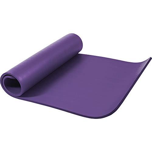 GORILLA SPORTS Yogamatte In Verschiedenen Farben, Lila, 190 x 60 x 1.5 cm, 10000541;371