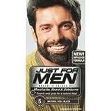 TROIS PACKS de juste Pour Hommes Barbe/Moustache/Favoris Vrai Noir M-55
