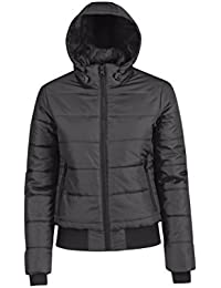 B&C Collection Women's Full Zipped Heavyweight Windproof Superhood Jackets XS-2XL