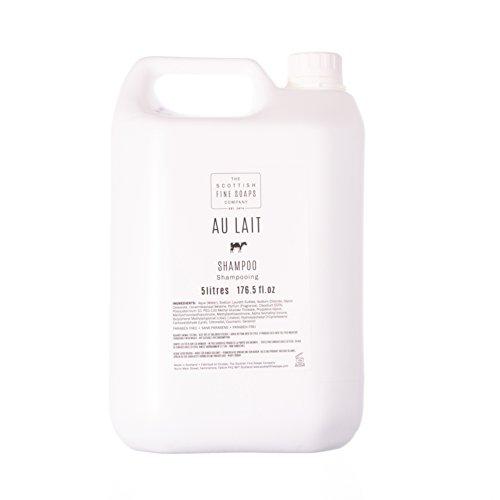 Scottish Fine Soaps Commercial Au Lait Hair Shampoo Refill