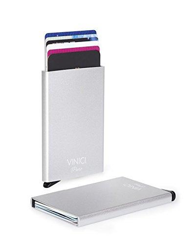 3951f90338 Porta Carte di Credito Premium con protezione RFID e funzionalità ...