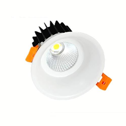 Wlnnes 10W 20W 30W Luz empotrada COB empotrable 600 lúmenes UL Certificación...