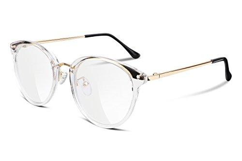 FEISEDY Damenbrille ohne Brillenfassungen Gefälschte Gläser ohne Stärke B2260