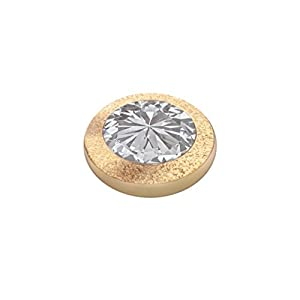 MelanO Magnetic Ringaufsatz Gold Glamour Crystal