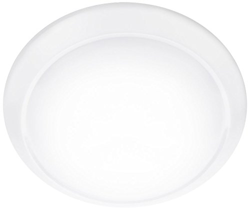 Philips myLiving Cinnabar - Plafón, LED integrado, iluminación interior para cuarto de baño o salón