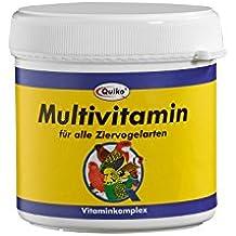 Quiko Multi Vitamin – Vitamina complejo en forma de polvo para todos los tipos de adorno