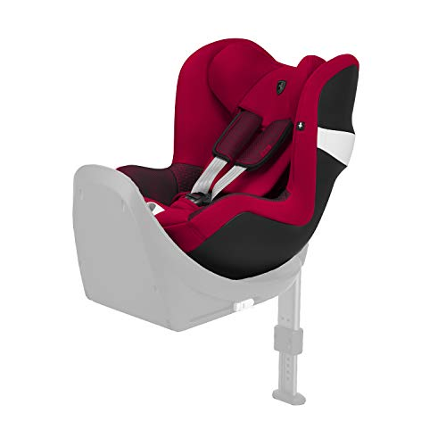 CYBEX Gold Kinder-Autositz Sirona M2 i-Size Scuderia Ferrari, Für Kinder ab 45 cm bis 105 cm (max. 19kg), Racing Red