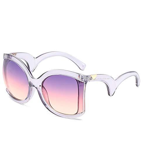 Platz Elegante Damen Sonnenbrille Damen Luxus Big Sonnenbrillen weiblich Jahrgang Shades Brillen, 1