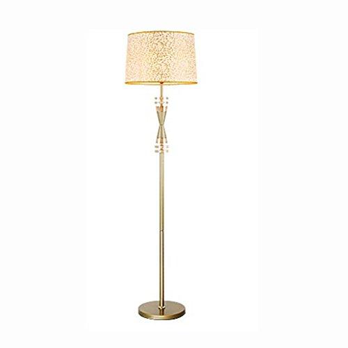 oro Lampada da terra soggiorno studio di cristallo di personalità di modo semplice e creativo qualità camera da letto della lampada divano lampada da comodino - Alta