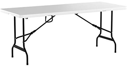 Tisch klappbar Kunststoff weiß