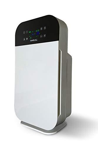 Comedes Lavaero 280 - Starker 7-Stufen Luftreiniger, Rauchverzehrer inkl. Aktivkohle, HEPA-Filter und Ionisator | Mit Luftqualitätssensor | Ideal für Allergiker, Asthmatiker & Raucher | Räume bis 55m²