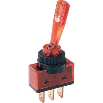 SCI ASW-13D 20 Toggle Switch, SPST, On-Off 12Vdc 20A