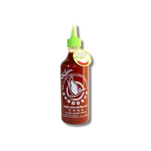 Flying Goose - Sriracha scharfe Chilisauce mit Zitronengras - 455ml