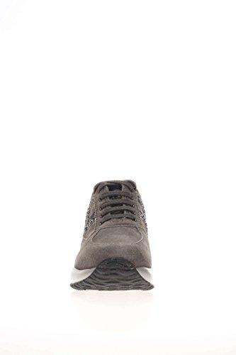 Hogan Interactive HXC00N0O2409MU372B Mädchen-Sneaker Piombo/catrame