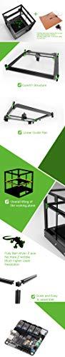 HD Neueste 3D Drucker East 3D Gecko Core XY Struktur diy mit heißem Bett - 3