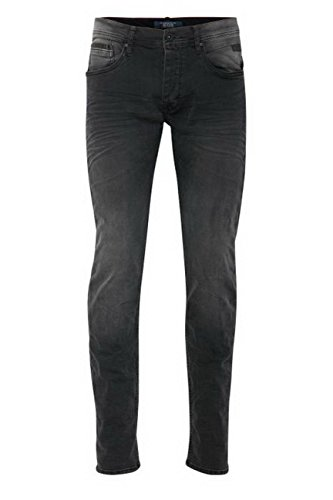 Blend Herren Jeans Jet - Slim Fit - Schwarz - Denim Black, Größe:W 38/L32, 36067-:Denim Black 76204