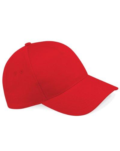 Beechfield B15Ultimate 5Panel Gorra béisbol Rojo