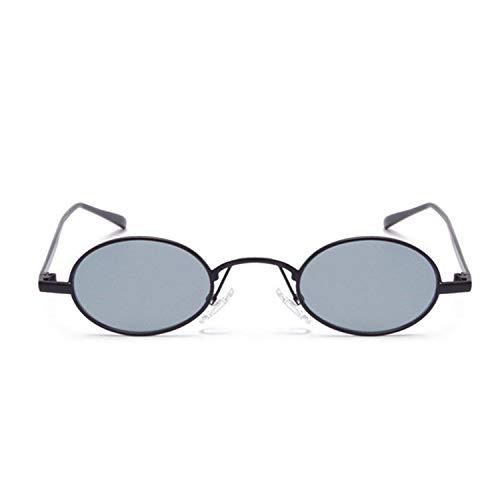 Sport-Sonnenbrillen, Vintage Sonnenbrillen, Small Round Sunglasses Brand Designer Eyeglasses Metal Frame Eyewears Retro Oval Sun Glasses For Women as picture Gold