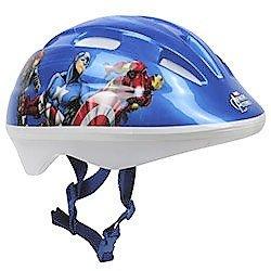 Casque De Sport Protection Enfant - Bleu - Marvel Avengers - Taille S (52/56 cm)