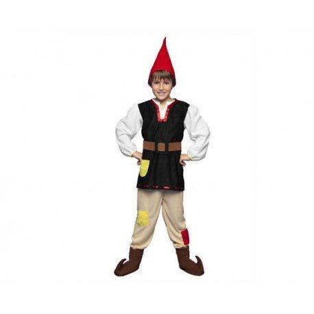 Imagen de disfraz gnomo talla 5 6 años  5 6 años
