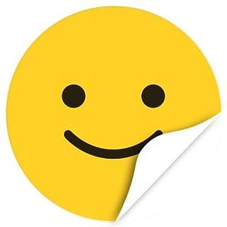 120 extra große Belohnungsaufkleber (gelb) für Kinder, Schule, Erziehung, Kindergarten, Vorschule, Kita / Aufkleber / Sticker / Etiketten