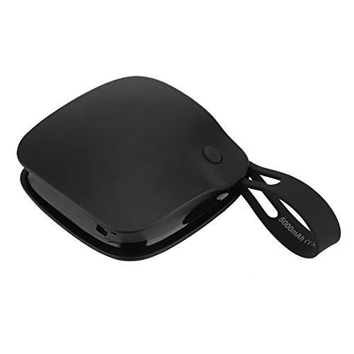 FTVOGUE Réchauffeur de Main Mini Portable Anti-déflagrant USB Rechargeable Double Face Chauffage Réchauffeur de Main Mobile Power Bank pour Home Office(02)
