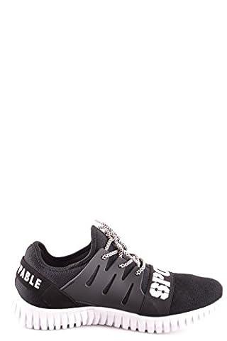 Philipp Plein Homme Msc0561ste006n02 Noir Polyester Baskets