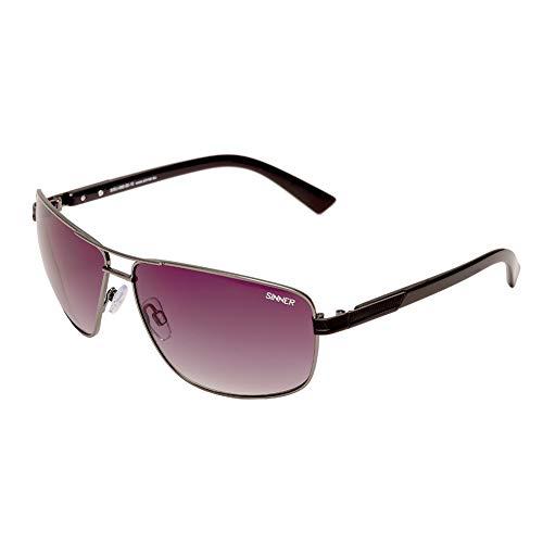 SINNER Erwachsene Sonnenbrille Brandon Polycarbonat SINTEC Polarisiert Gun Metal