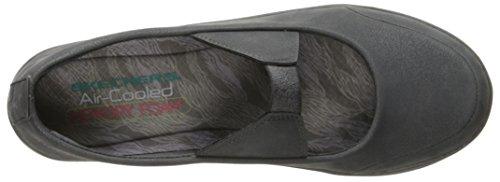 Skechers Lite Step-Helium, Scarpe da Ginnastica Basse Donna Grigio (Ccl)