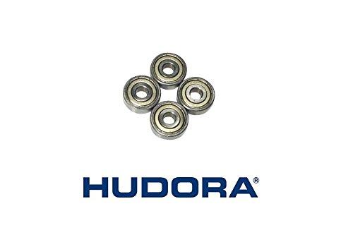 4 Hudora Kugellager ABEC 5 für Roller Big Wheel / Inliner