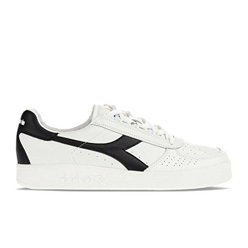 Diadora Herren B Elite Sneakers Elfenbein (Bianco/blu Profondo/blu Profon)