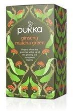 Pukka Tee - Ginseng Matcha Grüner Tee 20 Teebeuteln