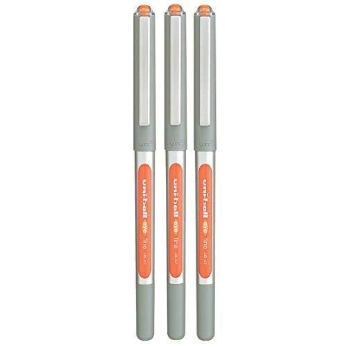 3 x Uni-Ball Eye UB-157 a Sfera Penna Fine (0.7mm) Arancione