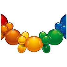 Luftballons metallic bunt gemischt Ø 250 mm Größe /'M/'