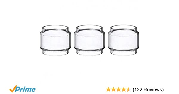 3x Bulb Pyrex Glass Tube Pieces #2 For SMOK TFV12 PRINCE Tank