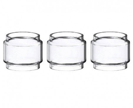 Birne Pyrex Ersatzglas für TFV12 Prince Verdampfer (Packung von 3) Enthält Kein Nikotin -